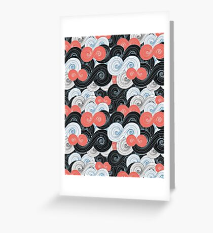 abstract pattern Greeting Card
