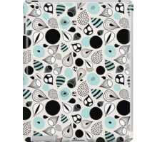 abstract pattern of drops and stains iPad Case/Skin