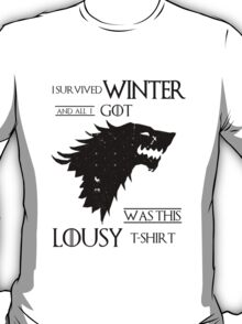 Games of Thrones - Surviving Winter T-Shirt
