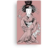 Vecta Geisha 1.1 Canvas Print