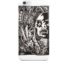 Wickedest Man (unpremeditated drawing of Aleister Crowley) iPhone Case/Skin