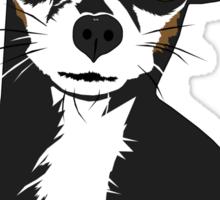 Zoe the Chihuahua Cartoon Portrait Sticker