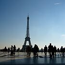 Eiffel Tower by Kylie Blakemore