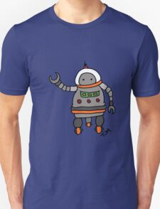 Robot tweeks T-Shirt
