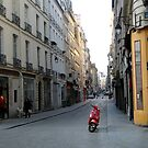 On the way to Monmartre by Kylie Blakemore