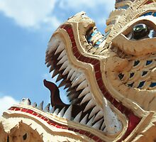 Sculpture from Wat Arun by Aaron Wolf