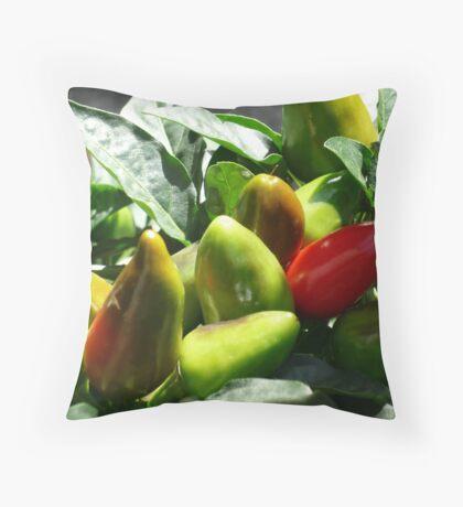 Chilis Throw Pillow