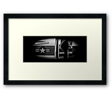Army of One Framed Print