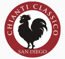 Black Rooster San Diego Chianti Classico  One Piece - Short Sleeve