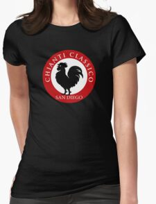 Black Rooster San Diego Chianti Classico  Womens Fitted T-Shirt
