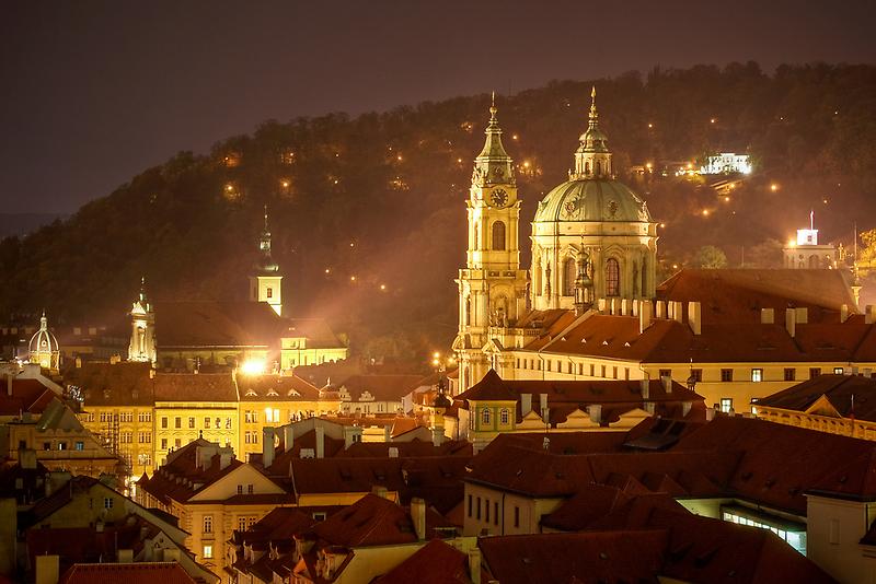 St. Nicholas Cathedral, Prague, Czech Republic by Petr Klapper