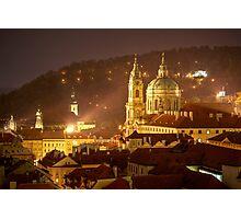 St. Nicholas Cathedral, Prague, Czech Republic Photographic Print