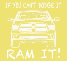 If you can't Dodge it Ram it! Kids Clothes