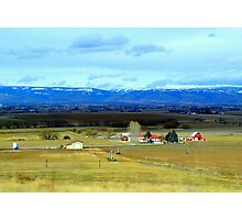 Idaho Farm Photographic Print