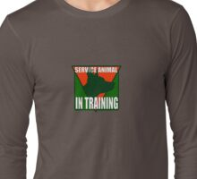 SERVICE DOG  IN TRAINING Long Sleeve T-Shirt