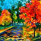 Flame Of Autumn — Buy Now Link - www.etsy.com/listing/215093507 by Leonid  Afremov