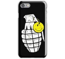 Grenade Smiley iPhone Case/Skin