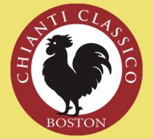 Black Rooster Boston Chianti Classico  Kids Tee
