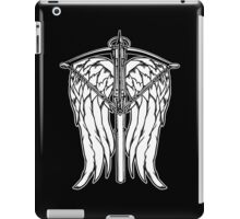 Angel Wings and Crossbow (Clean) iPad Case/Skin