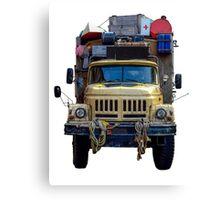 Desert Expedition Truck Canvas Print