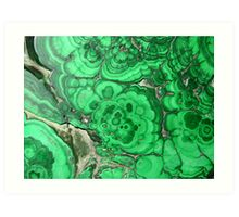 Malachite Art Print