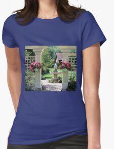 Beautiful Garden Womens Fitted T-Shirt