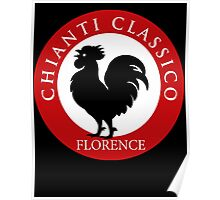 Black Rooster Florence Chianti Classico  Poster