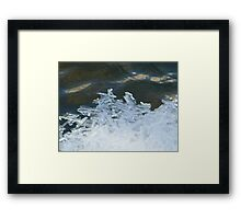 River Crystals  Framed Print