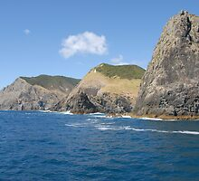 Cape Brett & Percy Island at Bay of Islands - New Zealand by Michael Norris