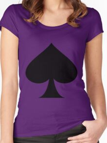 SPADES Women's Fitted Scoop T-Shirt