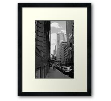Downtown - Sydney Framed Print