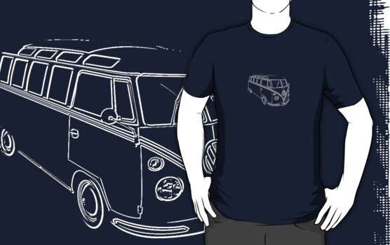 VW Kombi Samba by frenzix