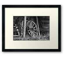 Farming Equipment Framed Print