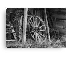 Farming Equipment Canvas Print