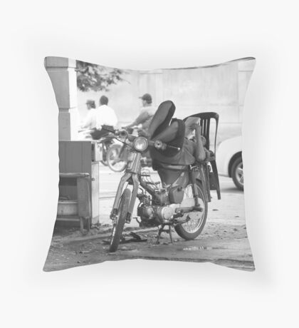 Transportation in Ho Chi Minh City Throw Pillow