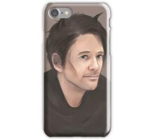 Sean Patrick Flanery god portrait iPhone Case/Skin