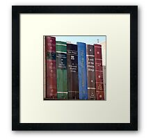 Lord Of The Onion Rings Framed Print