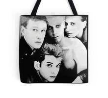 Depeche Mode : Single 81-85 - Paint B&W Tote Bag