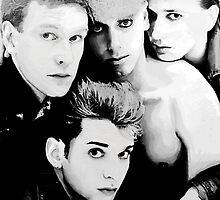 Depeche Mode : Single 81-85 - Paint B&W by Luc Lambert