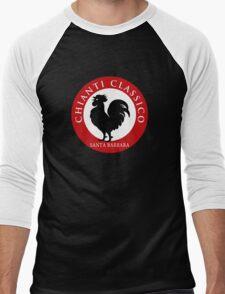 Black Rooster Santa  Barbara Chianti Classico Men's Baseball ¾ T-Shirt