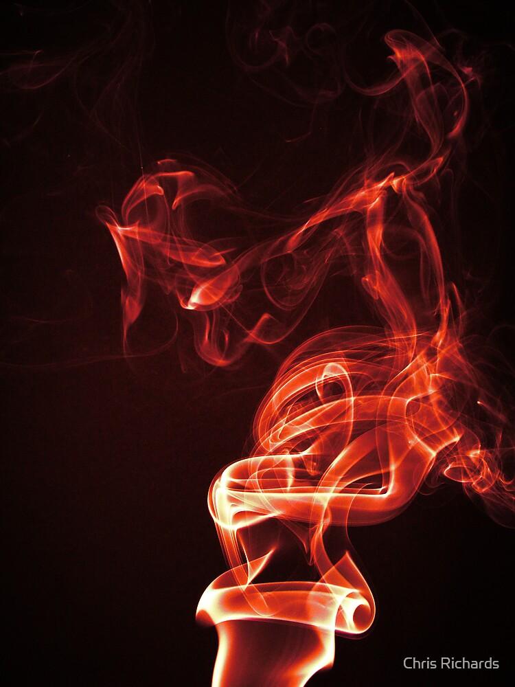 Red Smoke by Chris Richards
