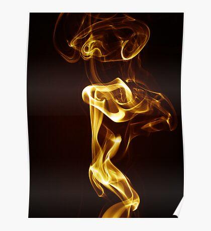 Golden Smoke Poster