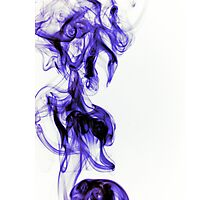 Like Ink in Water Photographic Print