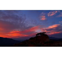 Petersen Sunset IV Photographic Print