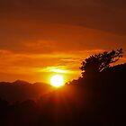 Petersen Setting Sun by Jon  Johnson