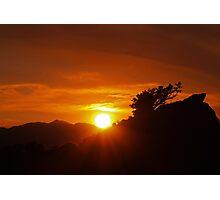 Petersen Setting Sun Photographic Print