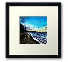 Hawaiian Beach  Framed Print