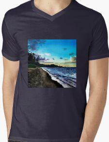 Hawaiian Beach  Mens V-Neck T-Shirt