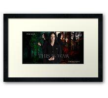 Severus Snape and the Marauders  Framed Print