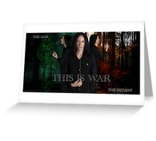 Severus Snape and the Marauders  Greeting Card